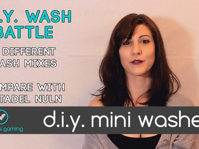 Boardgame D.I.Y. #3- Cheap & Easy DIY Mini Washes.Shades Tutorial