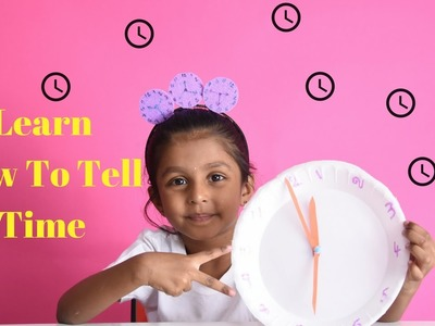 Clock – Kids Craft|Teaching Time – What Is The Time Now?|Nanduplaytime