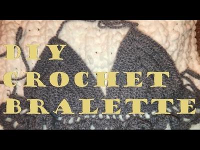DIY CROCHET BRALETTE TUTORIAL