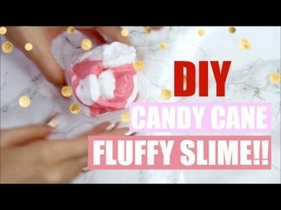DIY FLUFFY PEPPERMINT MARSHMALLOW SLIME!! - SO COOL ♥