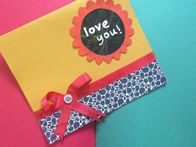 DIY-How to make a greeting card!| Raifa Basheer
