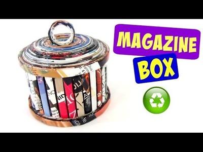 DIY How to make paper boxes. Cómo hacer cajas de papel