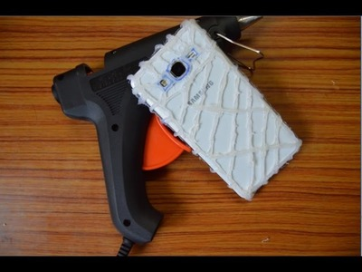 DIY PHONE CASE Life Hacks - Hot Glue Craft - Easy & Fun