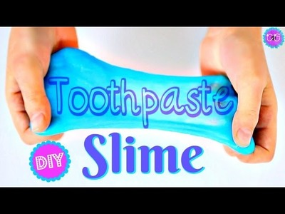 DIY TOOTHPASTE SLIME THAT REALLY WORKS!  IMPORTANT TIPS!  NO BORAX OR SALT!