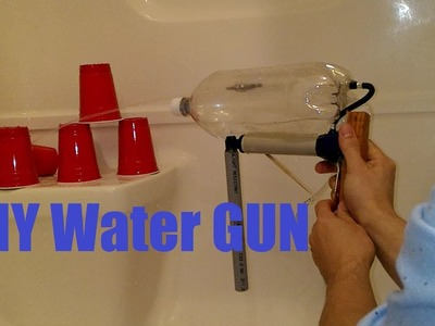 DIY tutorial on simple and cheap Super Soaker type gun!