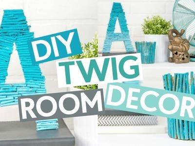 DIY TWIG ROOM DECOR | TUMBLR INSPIRED