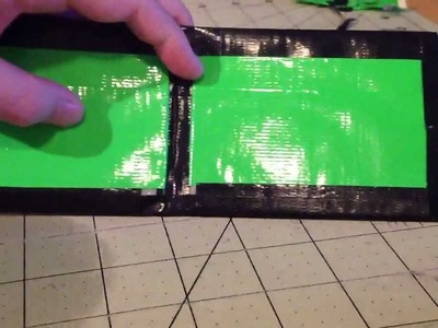 Duct Tape Slick Wallet Tutorial!!!