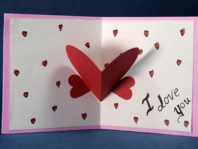 Happy Valentine's Day Card - DIY Valentine Card Making Tutorial