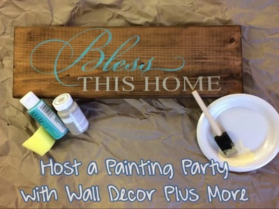 Host a Painting Party, Let Us Help You Enjoy a Fun Craft Night