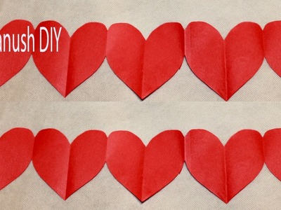 HOW TO MAKE AN EASY VALENTINES DAY DECORATION VALENTINES DAY CRAFT