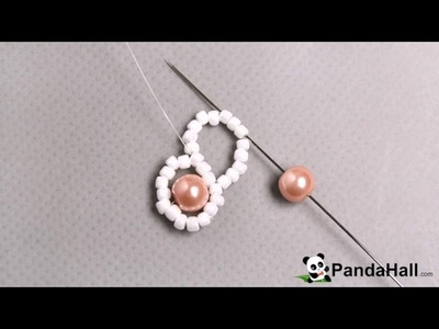 114  How Do You Make a Fresh Pink Pearl Beads Bracelet with White Seed Beads 1