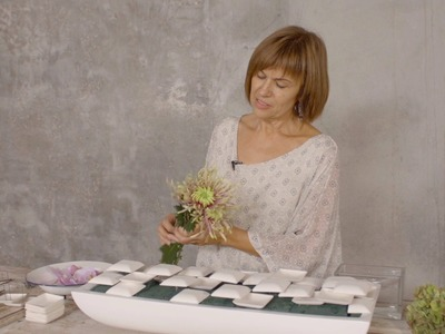 A Soft Square design by Bea Beroy | Flower Factor How to Make | Powered by Deliflor