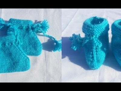Baby Socks Knitting | Full Procedure | Hindi |