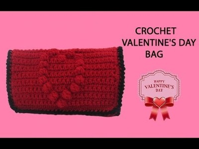 Crochet Valentine's Day Bag Tutorial