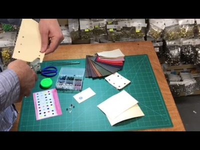 Demonstration of how to use our eyelet pliers