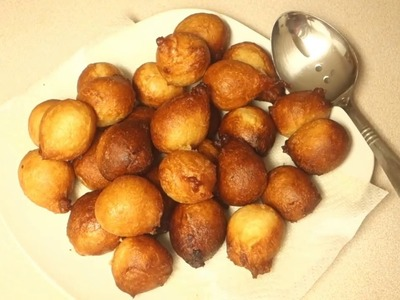 DIY: HOW TO MAKE PUFF PUFF (Cameroon style)