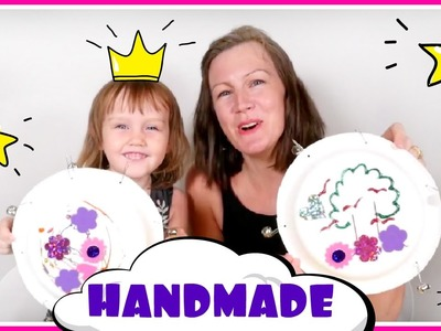 Easy DIY Crafts for Kids & Family Fun #Crafts! How to make Tambourine in #craftsforkids video
