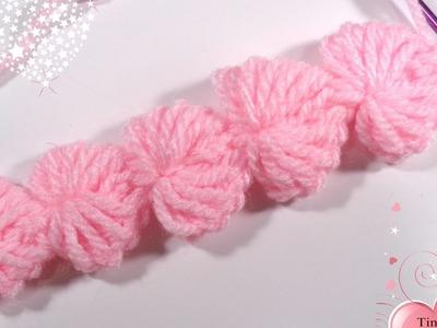 Heart crochet string No -1