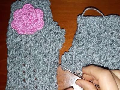 How to Crochet Fingerless gloves   new 2017 HD