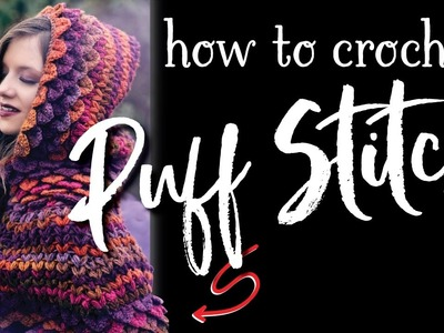 How To Crochet: Puff Stitch Crochet Tutorial