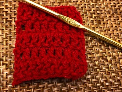How to Double Crochet for beginners