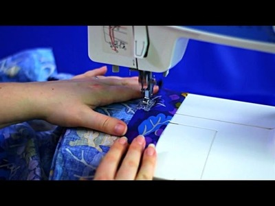 How to keep elastic waistbands from twisting in skirts - Quick sewing tips by Sewing Bee Fabrics