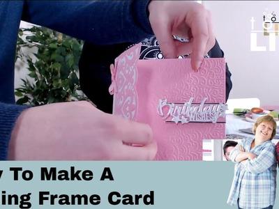 How To Make A Folding Frame Card - Tonic Live No.32