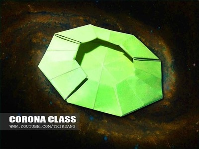 How to make a Paper U.F.O that Flies - BOOMERANG PAPER PLANE   Corona Class