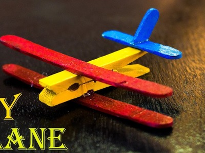 How to Make a Popsicle Stick Airplane