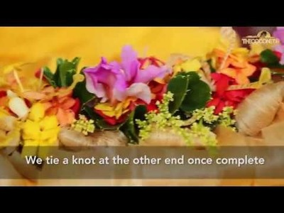 How to make a Salusalu (Garland.Lei)