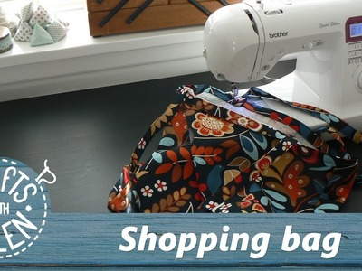 How to make a shopping bag | Sewing tutorial