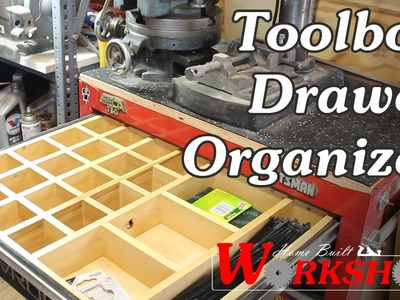 How to make a Toolbox Drawer Organizer