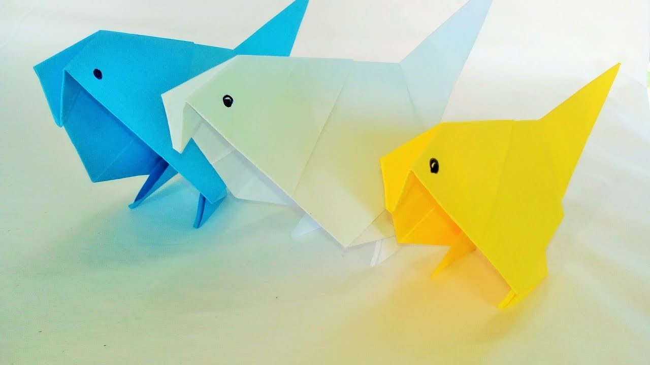 How To Make An Origami - How To Do Paper Folding