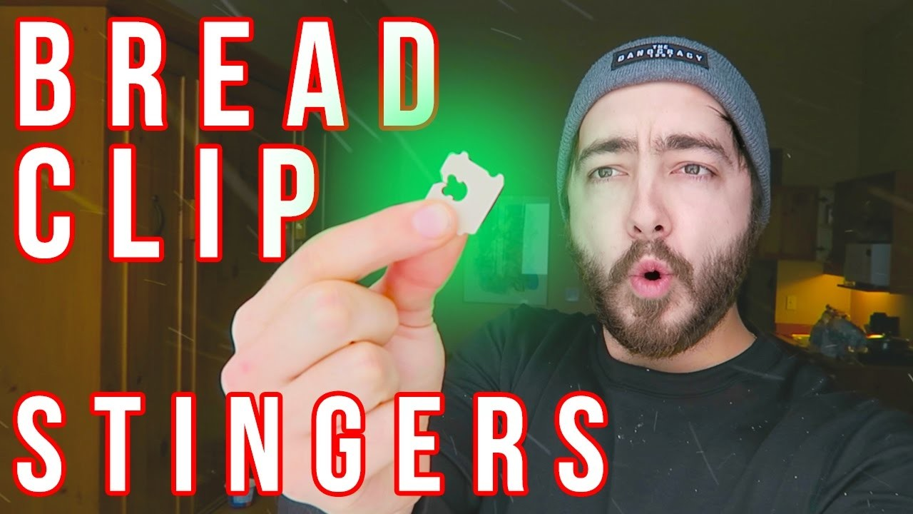 How To Make BREAD CLIP STINGERS!
