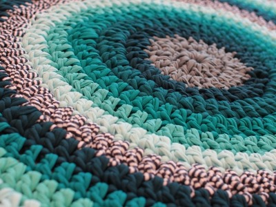 How to make doormat at home with waste clothes  - Recycle cloth