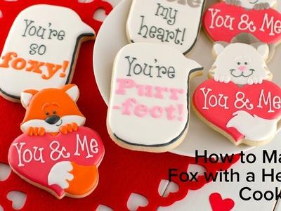 How to Make Fox Heart Cookies