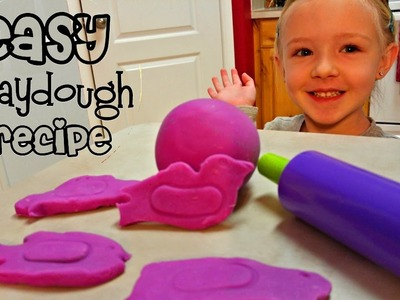 How to Make Playdough With Flour and Water - Easy DIY & Super Soft
