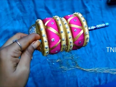How to make silk thread bangles at home,indian silk thread bangles,silk thread bangles new designs