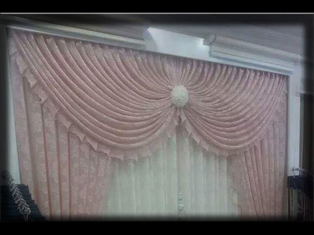 How to make swags and tails curtains(heart swag)