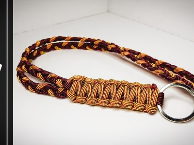 How to make The Desert Paracord Lanyard.KeyChain [UWA ORIGINAL] [Tutorial]