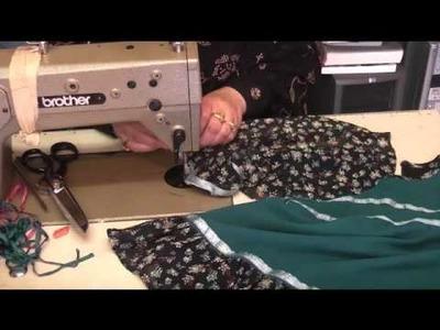 How to stitch baby dress part 4