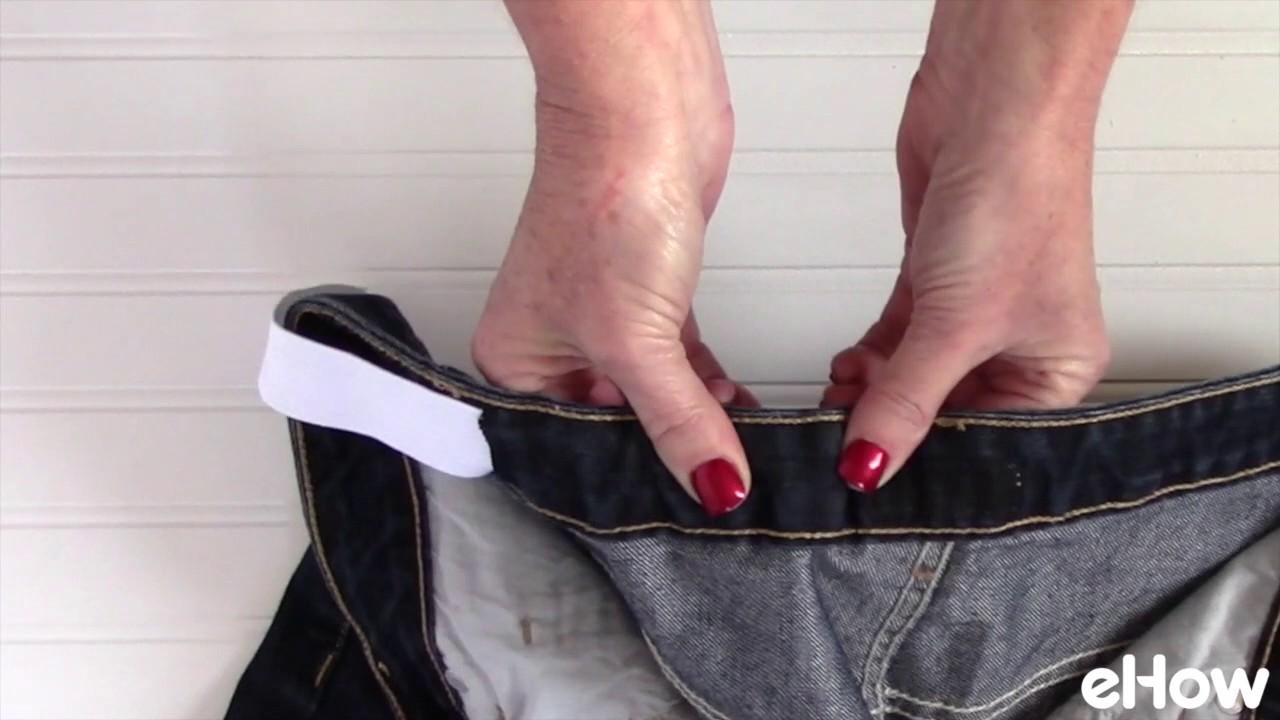 How to Take in the Waist on a Pair of Jeans