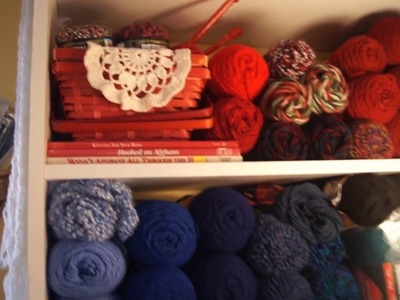 Knitting Room Tour