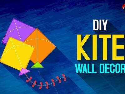 Makar Sankranthi Special | How to Make A Decorative Paper Kite