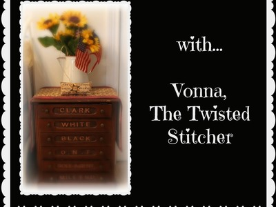 Tips and Tricks: How to Load Projects in your ROLAFRAME scroll rods - Vonna, The Twisted Stitcher