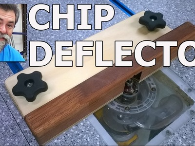 Trim router table | chip guard | dave stanton | diy | how to