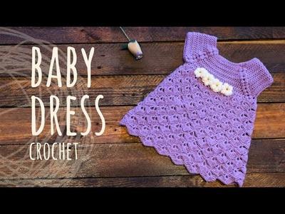 Tutorial Baby Crochet Dress