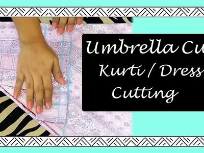 Umbrella Cut Kurti. Dress CUTTING | HOW TO CUT UMBRELLA KURTI