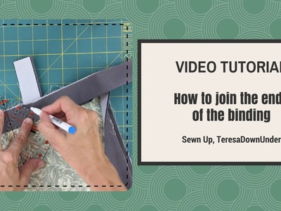 Video tutorial: How to join the binding ends of your quilt