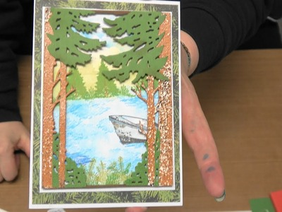 "#179 Learn ""Wind in the Wood's"" Dies & Stamps with 1st ever Script Die by Scrapbooking Made Simple"